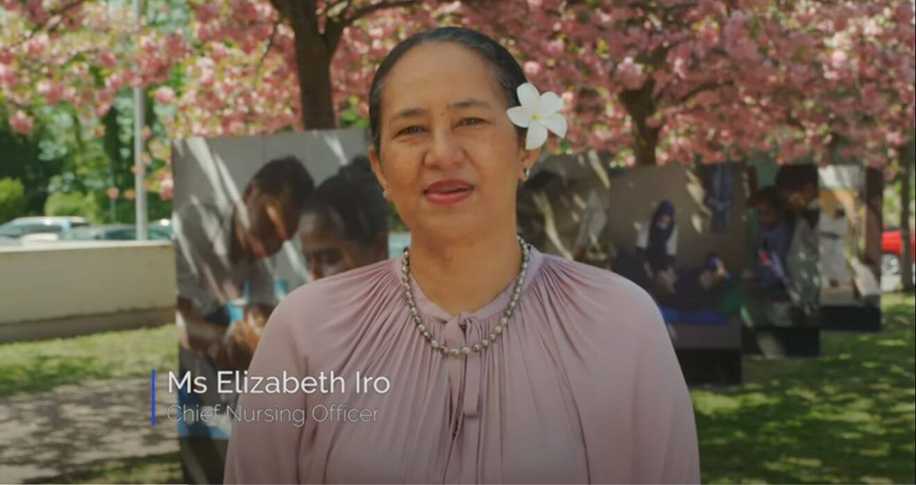 Video message from Elizabeth Iro, WHO chief Nursing Officer for International Nurses Day 2021